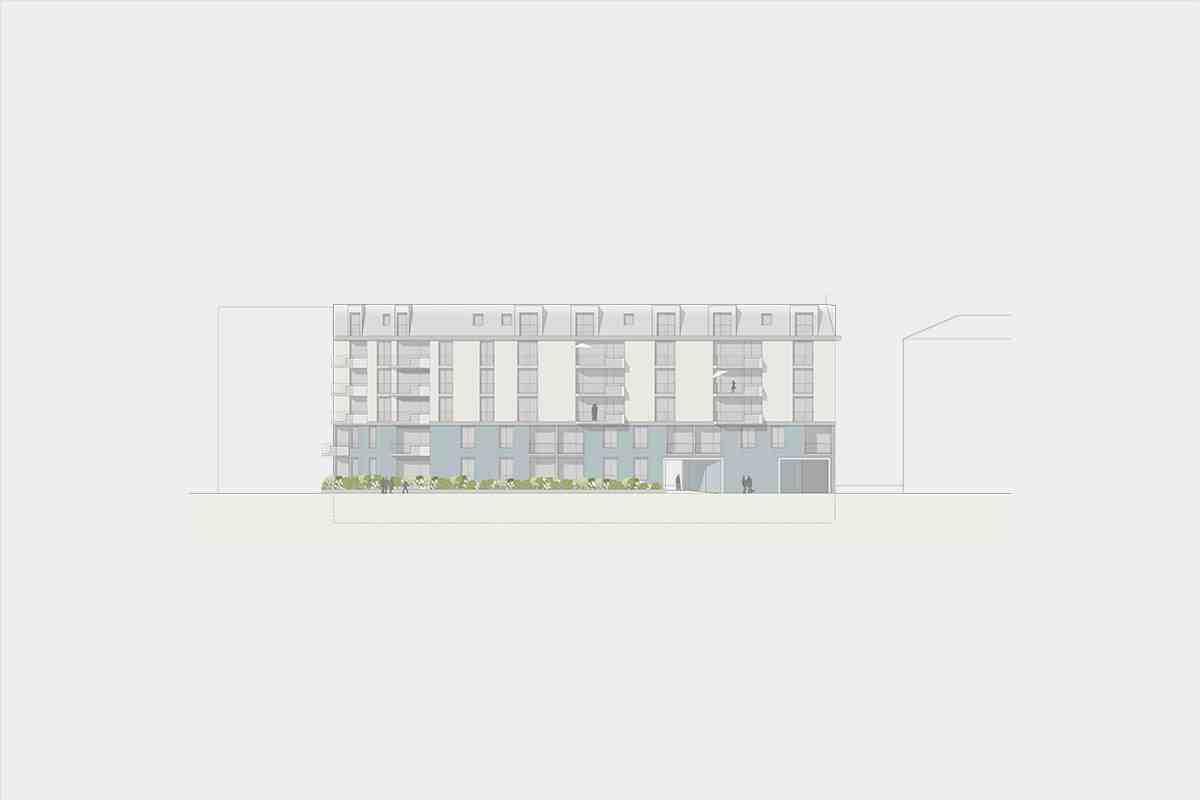 Studienauftrag Neubau Eibenstrasse 18+20 8045 Zürich