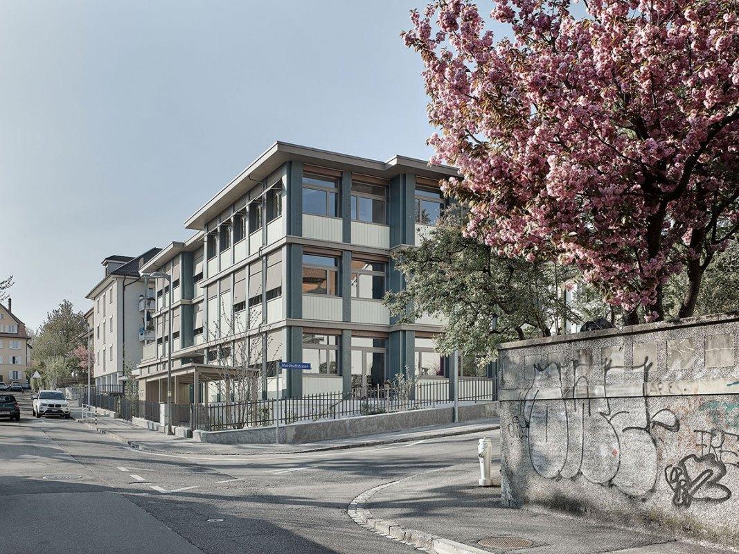 nuak - Kindergarten und Tagesschule Depotstrasse Bern - Foto Thomas Telley