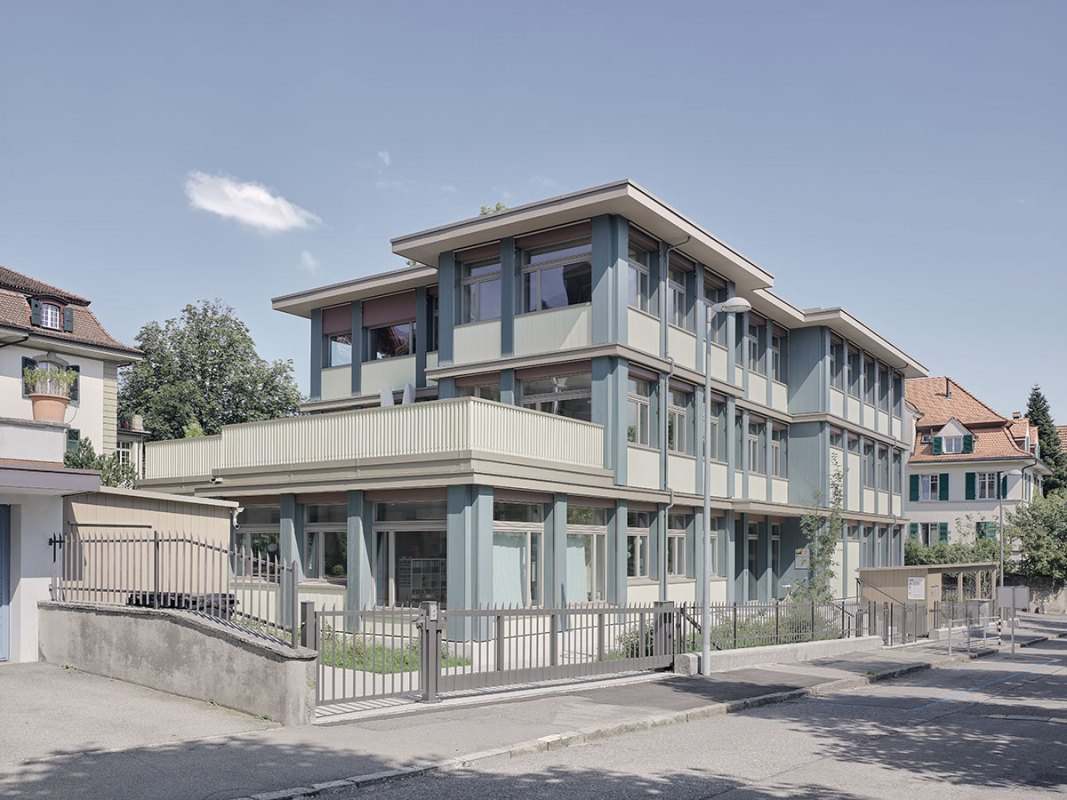 Kindergarten & Tagesschule Depotstrasse Bern, best architects 22