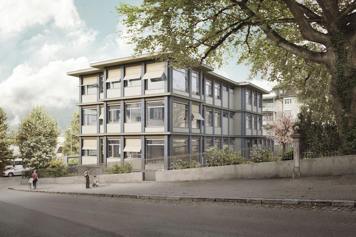 Kindergarten und Tagesschule Depotstrasse Bern