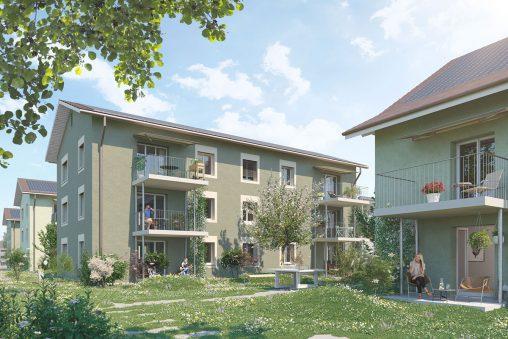 Sanierung Wohnüberbauung Nelkenweg, Cham