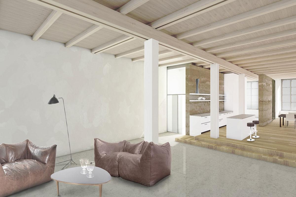 Innenausbau Loft Spinnerei III Windisch