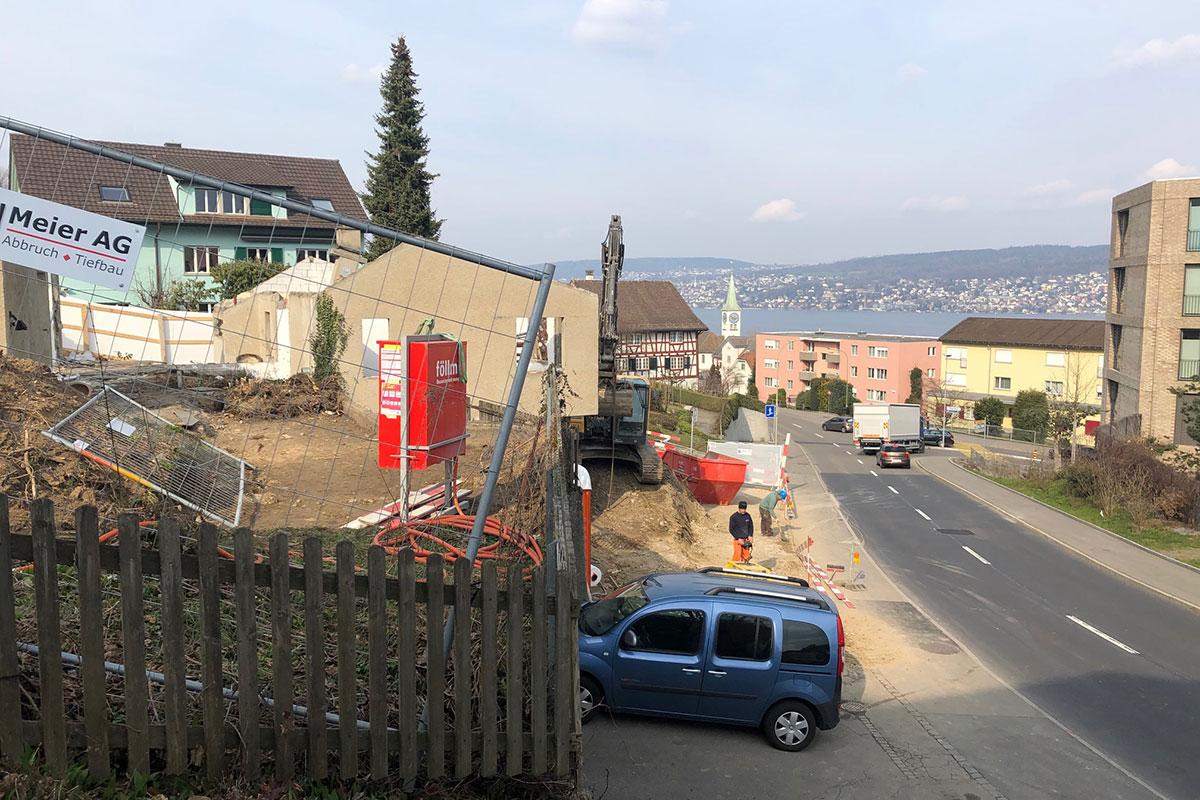 Neubau MFH Nidelbadstrasse Rüschlikon
